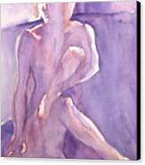 Lavender Nude Canvas Print