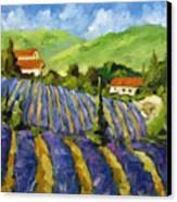 Lavender Scene Canvas Print
