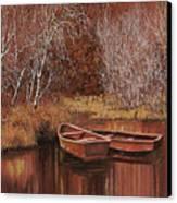 Le Barche Sullo Stagno Canvas Print