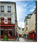 Le Consulat Canvas Print by Inge Johnsson