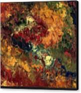 Le Feu Et La Vie 3 Canvas Print