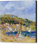 Le Lavandou Canvas Print