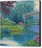 Le Pont Japonais Canvas Print