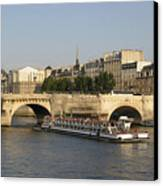 Le Pont Neuf. Paris. Canvas Print