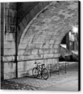 Le Vélo Canvas Print by I hope you'll like it