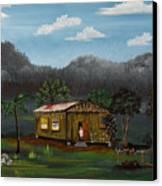 Lecheon A La Bara Canvas Print
