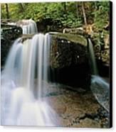 Ledge Brook - White Mountains New Hampshire Usa Canvas Print