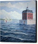 Ledge Lighthouse Canvas Print