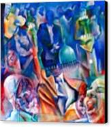Legacies Of Resistance Canvas Print by Khalid Hussein