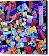 Legos Canvas Print by Barbara Berney