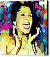 Lena Horne Canvas Print by Lynda Payton