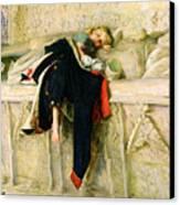 L'enfant Du Regiment Canvas Print by Sir John Everett Millais