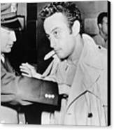Lenny Bruce 1925-1966, Being Searched Canvas Print
