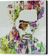Lenny Kravitz 2 Canvas Print by Naxart Studio