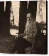 Leo Tolstoy 1828-1910 Russian Novelist Canvas Print by Everett