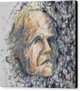 Leon Louis Leclair Jr Canvas Print by Suzanne  Marie Leclair