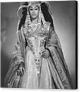 Leontyne Price B. 1927, As Cleopatra Canvas Print