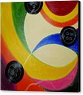 Les Boutons Noirs 2 Canvas Print