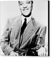 Lester Young 1909-1959, African Canvas Print by Everett
