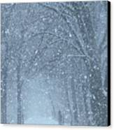 Let It Snow Canvas Print by Lori Frisch