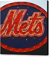Lets Go Mets Canvas Print by Richard Bryce and Family
