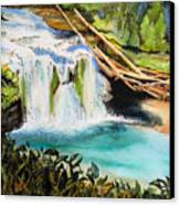 Lewis River Falls Canvas Print