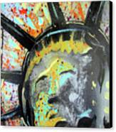 Liberty Canvas Print by Robert Wolverton Jr