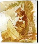 Librarian Canvas Print by Brian Kesinger