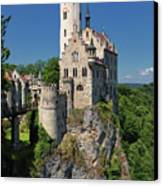 Lichtenstein Castle Canvas Print by Yair Karelic