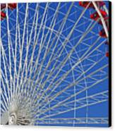Life Is Like A Ferris Wheel Canvas Print by Christine Till