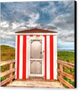 Lifeguard Hut Canvas Print