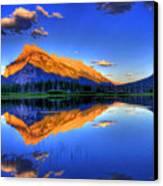 Life's Reflections Canvas Print by Scott Mahon