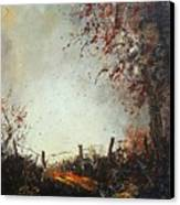 Light In Autumn Canvas Print
