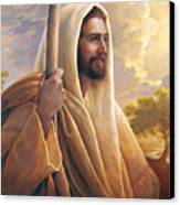 Light Of The World Canvas Print by Greg Olsen
