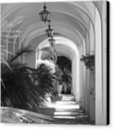 Lighted Arches Canvas Print