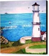 Lighthouse Glory Canvas Print