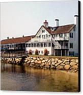 Lighthouse Inn At Bass River Canvas Print