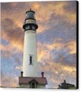 Lighthouse Visitors Canvas Print