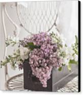 Lilacs Canvas Print by Beverly Cazzell