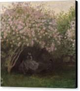 Lilacs Canvas Print by Claude Monet