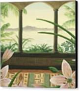 Lilies In Paradise Canvas Print