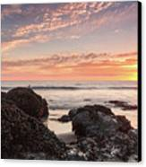 Lincoln City Beach Sunset - Oregon Coast Canvas Print