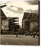 Lincoln Financial Field Canvas Print by Jack Paolini