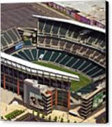 Lincoln Financial Field Philadelphia Eagles Canvas Print by Duncan Pearson