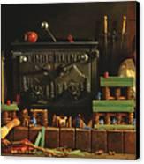 Lincoln Logs Canvas Print