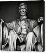 Lincoln Memorial Canvas Print by Daniel Hagerman