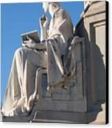 lincoln statue Gettysburg PA Canvas Print