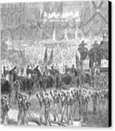 Lincolns Funeral, 1865 Canvas Print by Granger