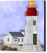 Lindesnes Norway Lighthouse Canvas Print