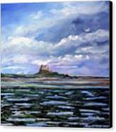 Lindisfarne. Canvas Print